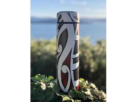 Moana Road Drink Bottle Miriama Grace-Smith Red 500ml