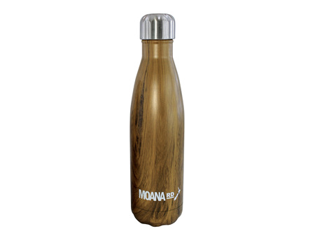 Moana Road Drink Bottle Wood 500ml