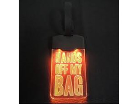 Moana Road Light Up Luggage Tag Hands Off!
