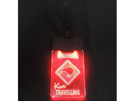 Moana Road Light Up Luggage Tag Kiwi Travelling
