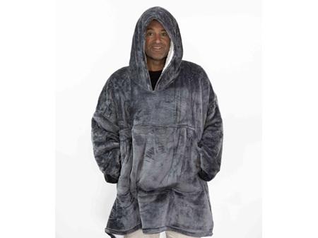 Moana Road Mega Hoodie Grey Adult