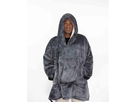 Moana Road Mega Hoodie Grey Adults One Size Fits All