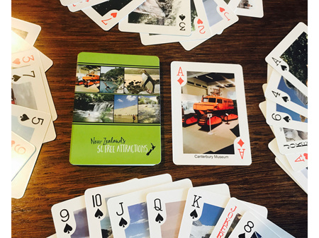 Moana Road Playing Cards 54 Attractions
