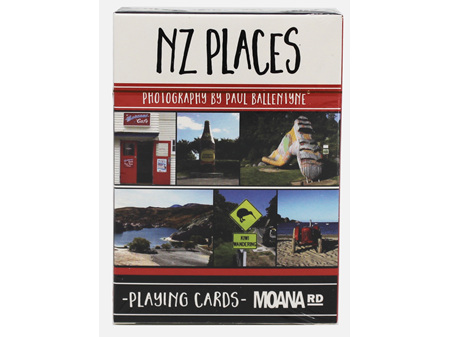 Moana Road Playing Cards NZ Places