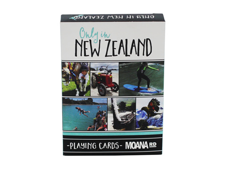 Moana Road Playing Cards - Only in NZ