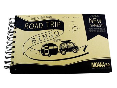 Moana Road Road Trip Bingo