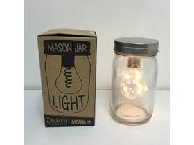 Moana Road Solar Mason Jar Light