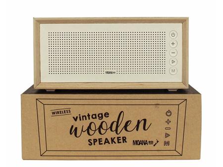 Moana Road Speaker Vintage Wireless Scandi