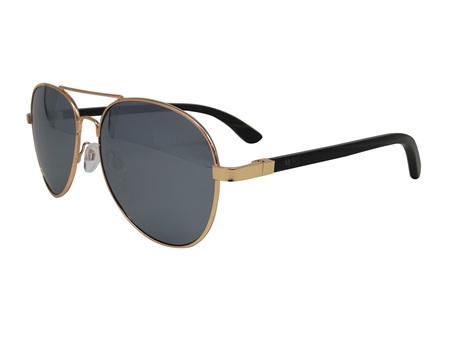 Moana Road Sunglasses + Free Case ! , Aviator Wolfman Silver Lens