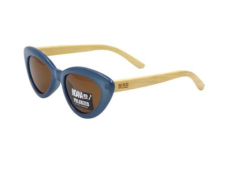 Moana Road Sunglasses + Free Case ! , Bette Davis Blue
