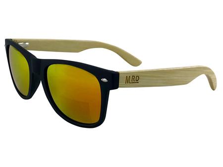 Moana Road Sunglasses + Free Case ! , Black with Reflective Lens