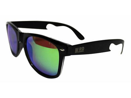 Moana Road Sunglasses + Free Case ! , Bottle Opener Green Lenses