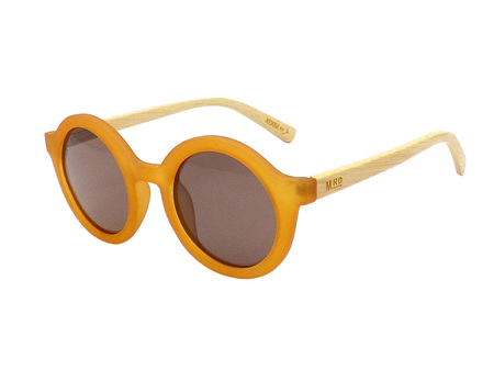 Moana Road Sunglasses + Free Case ! , Ginger Rogers Burnt Orange