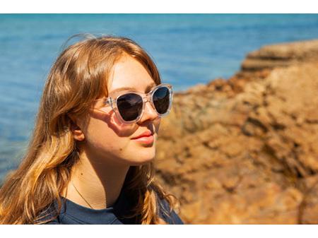 Moana Road Sunglasses + Free Case ! , Hepburn Clear