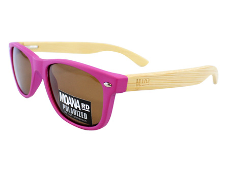 Moana Road Sunglasses + Free Case ! , Kids Pink