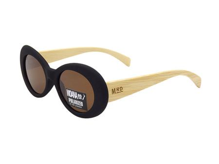 Moana Road Sunglasses + Free Case ! , Mae West Black