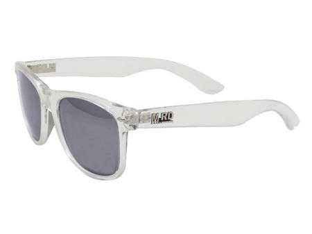 Moana Road Sunglasses + Free Case ! , Plastic Fantastic Clear Frames Black Lens