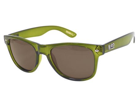 Moana Road Sunglasses + Free Case ! , Plastic Fantastic Olive Green
