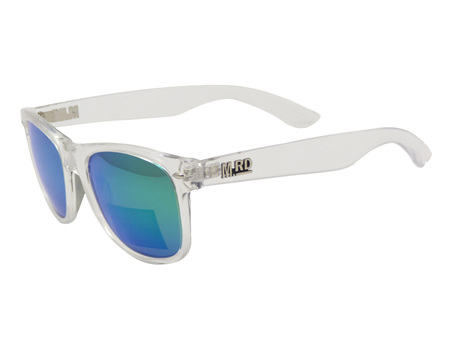 Moana Road Sunglasses + Free Case ! , Plastic Fantastic Clear Frame Clear Arms