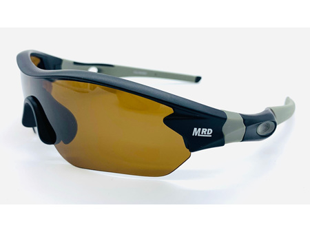 Moana Road Sunglasses + Free Case ! , Sporties Black with Brown Lens