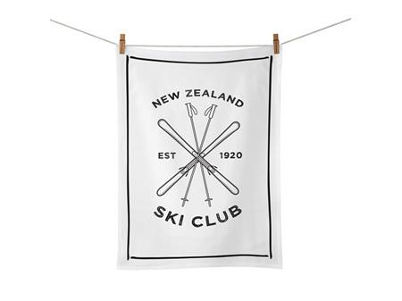 Moana Road Tea Towel - Ski Club
