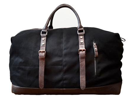 Moana Road Tekapo Overnighter Bag Black
