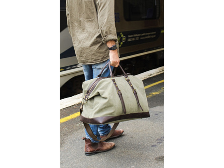 Moana Road Tekapo Overnighter Bag Olive