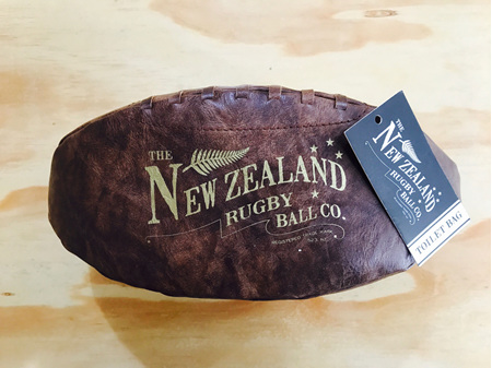 Moana Road Toilet Bag Rugby Ball