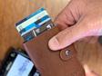 Moana Road Wallet Man Tan