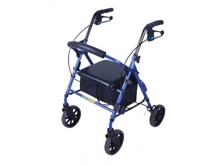 MOBILIS Plus Wlk Frame Bl 8 Wheel