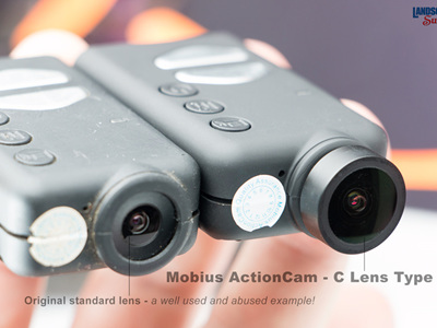 Mobius ActionCam - Set - C Lens Type