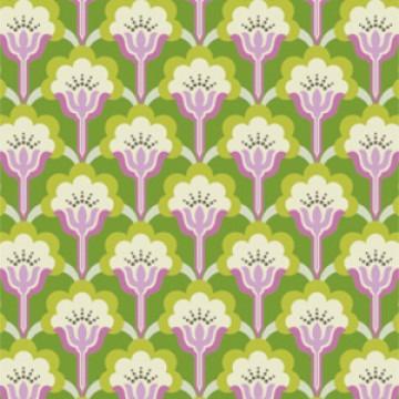 Mod Flower Olive