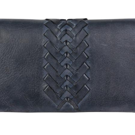 Modapelle Ladies Plaited Feature Wallet