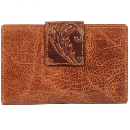 Modapelle Leather Embossed Wallet