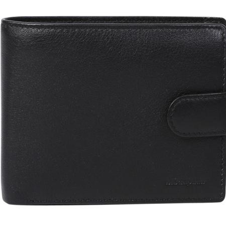 Modapelle Napa Mens Leather Wallet Brown