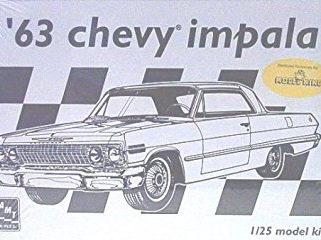 Model King/AMT 1/25 63 Chevy Impala