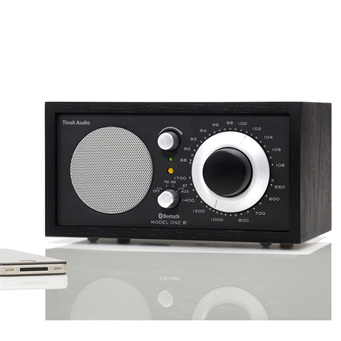 MODEL ONE BLACK/SILVER BLUETOOTH RADIO