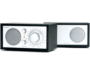 MODEL TWO STEREO AM/FM RADIO BLACK/SILVER