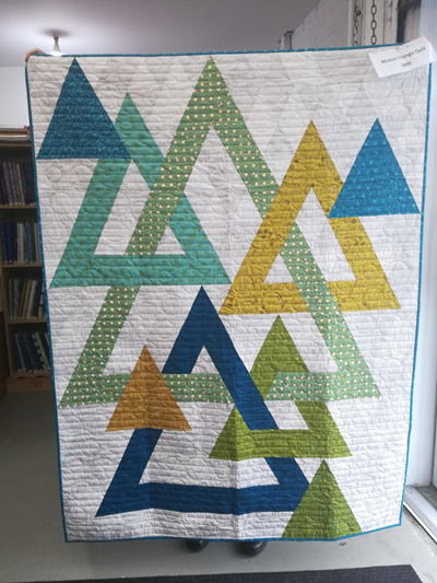Modern Triangle Quilt