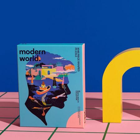 Modern World 1046 Shaped Mental Health Jigsaw Puzzle - Serenity