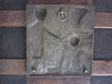 Modernist Bronze Religious Plaque Miracle of Jesus Walking on Water
