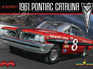 Moebius 1/25 1961 Pontiac Catalina Lil Joe Weatherly Stock Race Car