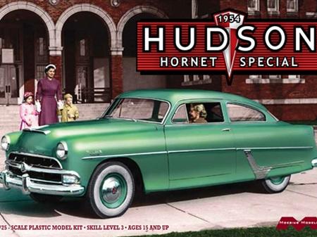 "Moebius 1/25 1954 Hudson Hornet Special ""Fastback"""