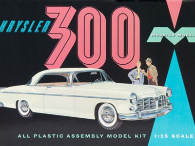 Moebius 1/25 1955 Chrysler 300