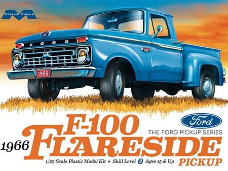 Moebius 1/25 1966 Ford F-100 Flareside Pickup