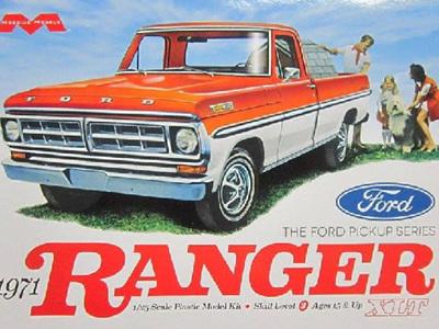 Moebius 1/25 1971 Ford Ranger XLT Pickup