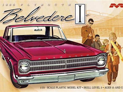 Moebius 1/25 '65 Plymouth Belvedere