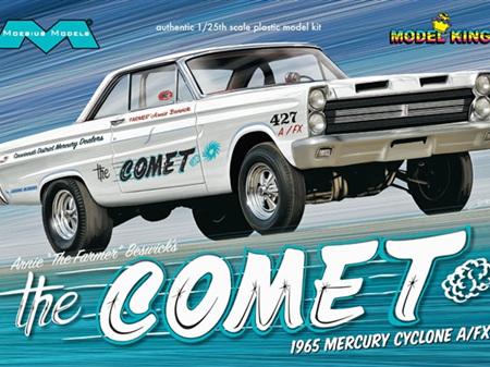 Moebius 1/25 Arnie Beswick's 1965 Mercury Comet Cyclone A/FX