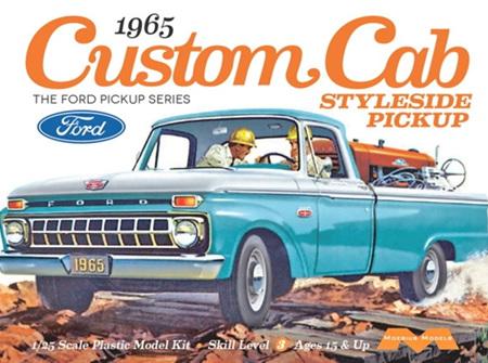 Moebius 1/25 1965 Ford F-100 Custom Cab Styleside (MOE1234)