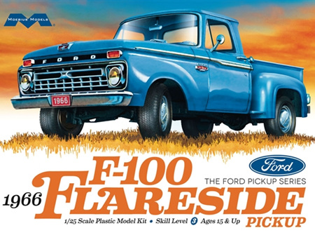 Moebius 1/25 1966 Ford F-100 Flareside Pickup